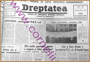 Dreptatea Anul XXII (Seria a IV-a) nr 213 - Vineri 19 octombrie 1990