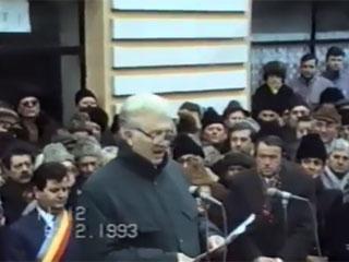 6.02.1993 la casa Maniu  din Simleu